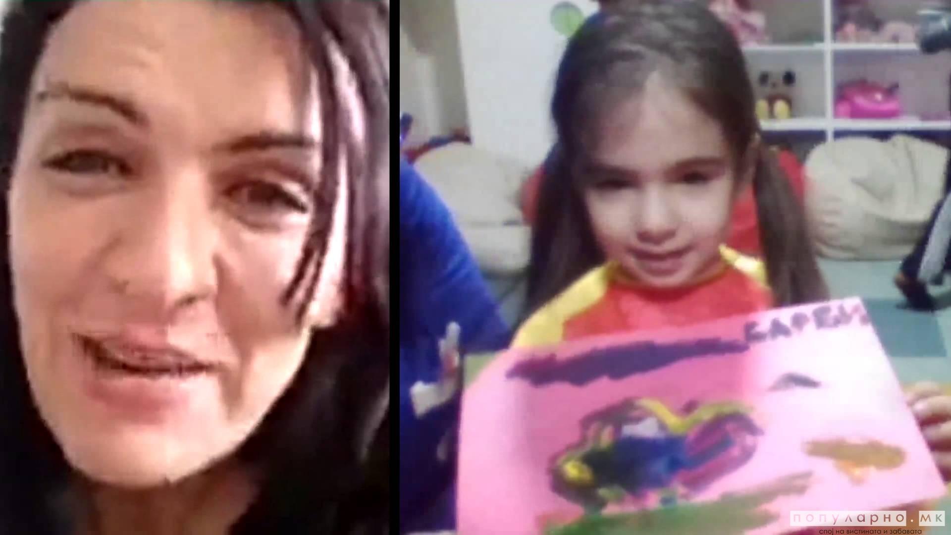 """ВИДЕО: Најмалите од градинката """"Пиколини"""" им го честитаа 8 Март на своите мајки"""