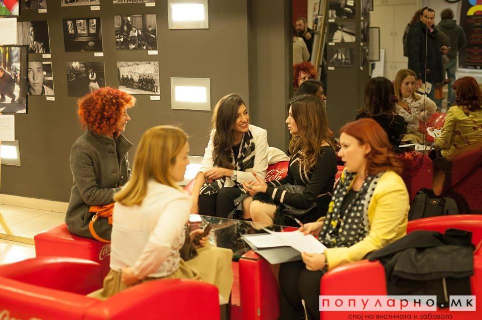 """Со дискусија на тема """"Како турските серии ја менуваат Македонија"""" одбележан Денот на жената"""