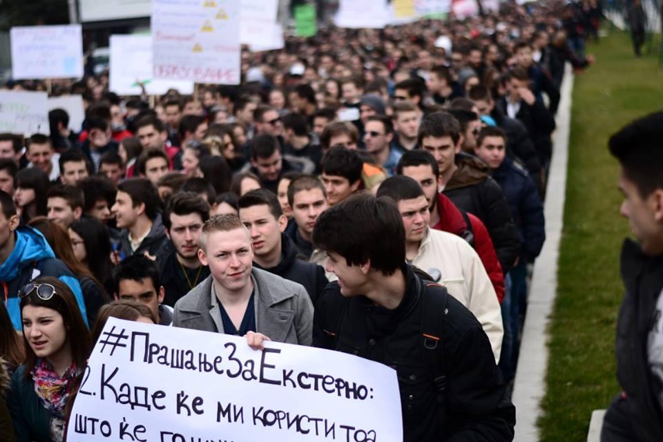 Во четврток заеднички марш на средношколците и студентите