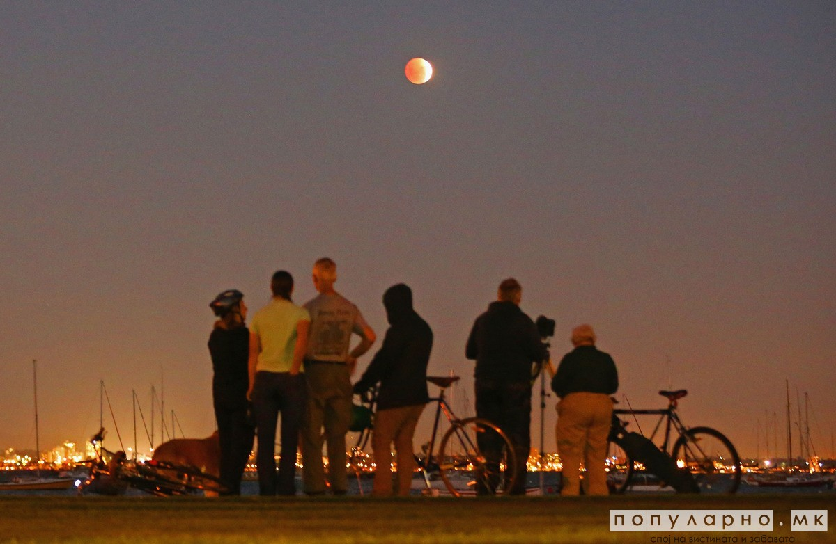 Оваа сабота повторно ќе има крвава Месечина