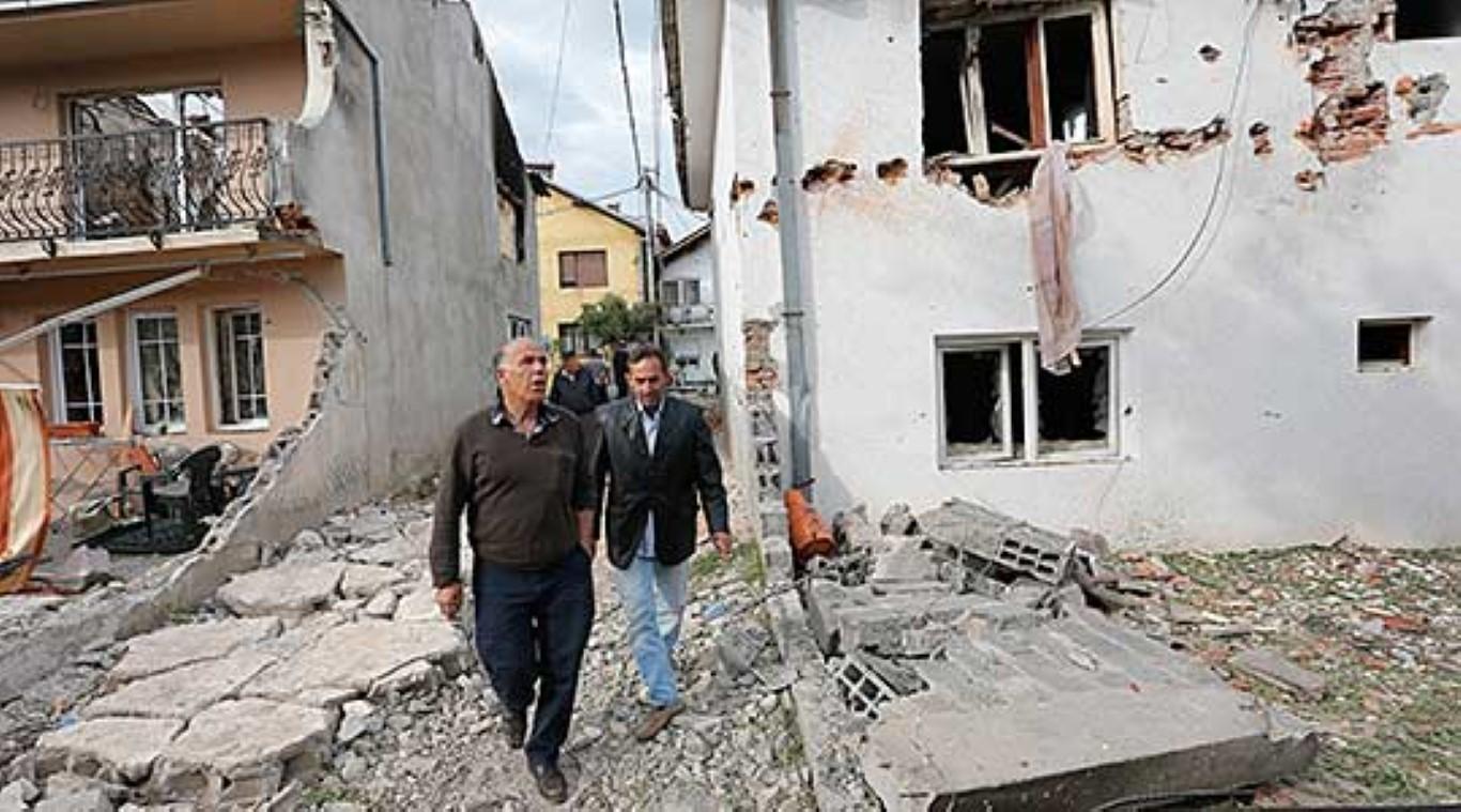 ФОТО: Се нормализира животот во кумановската Дива населба
