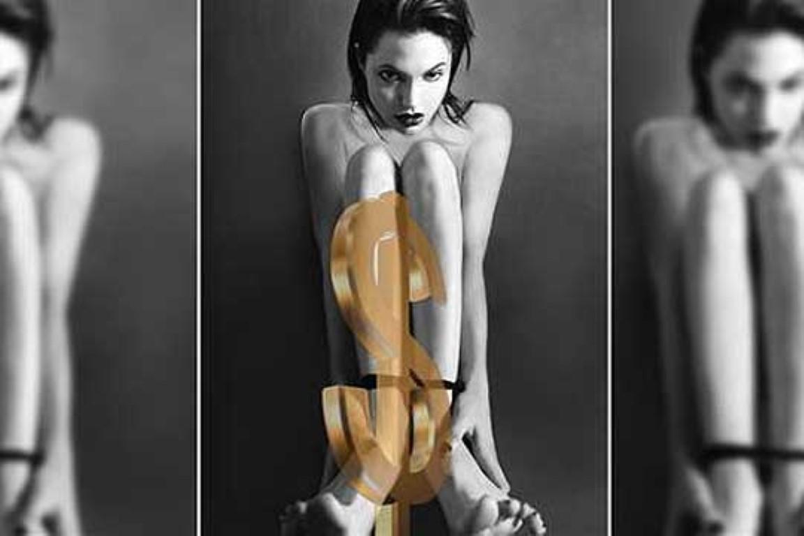 Голи фотографии на Анџелина Џоли продадени на аукција