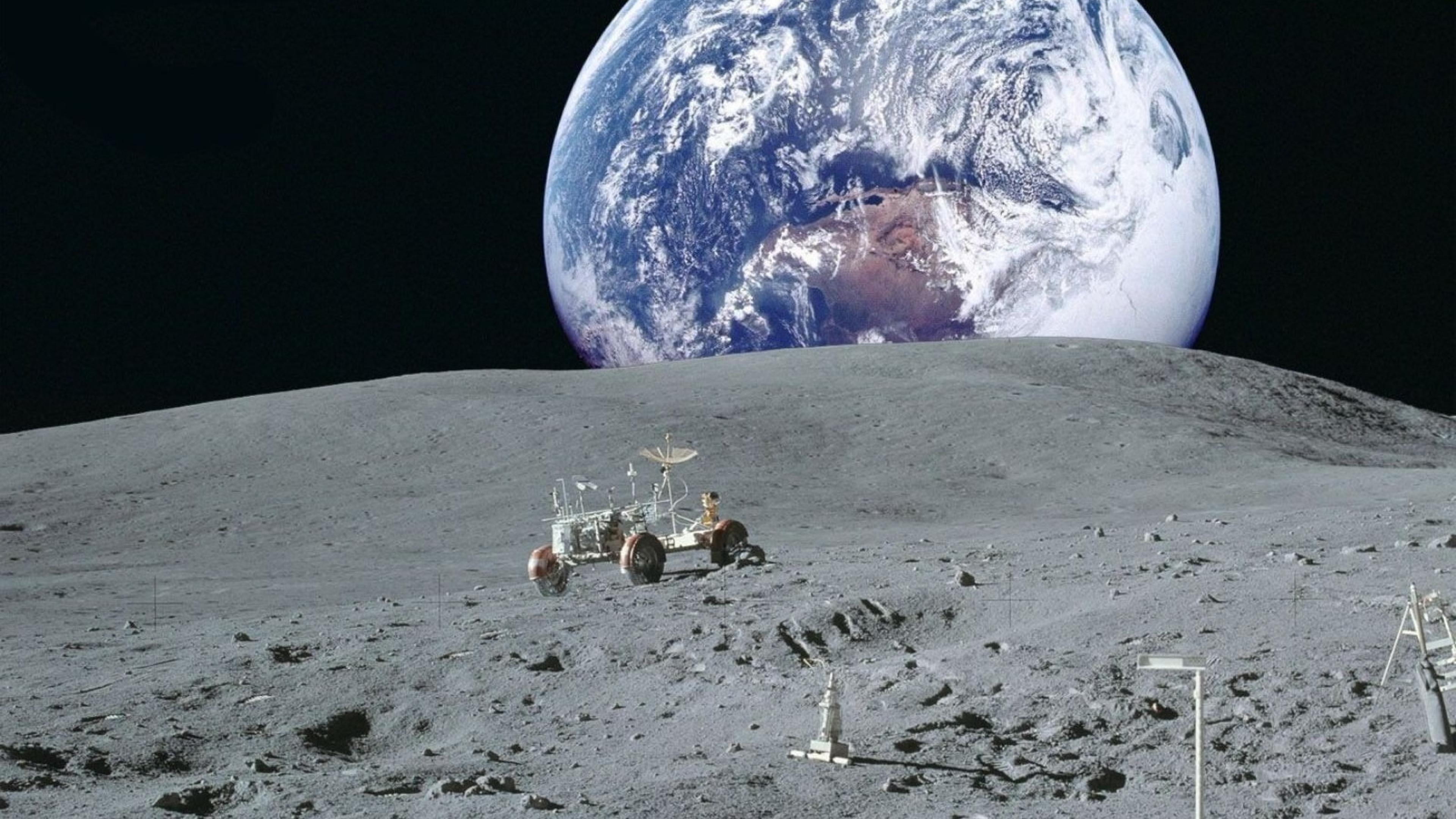 Европската вселенска агенција сака да гради село на Месечината