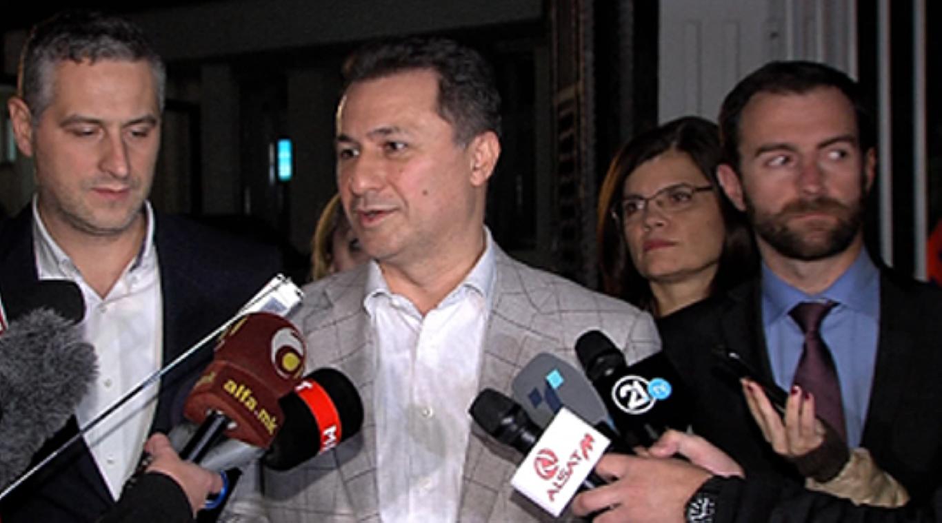 Груевски: Средбата успешна, целта е постигната - избори ќе има на 24 април