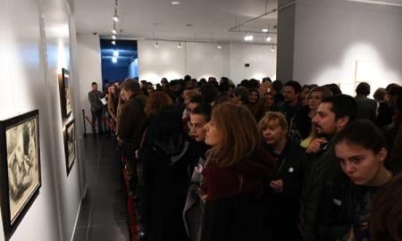 ФОТОГАЛЕРИЈА: Изложба на дела на големиот сликар Пабло Пикасо во МКЦ