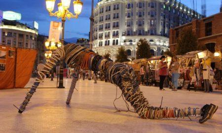 """""""Баскерфест"""" - забава за скопјани во вечерните часови (ФОТОГАЛЕРИЈА)"""