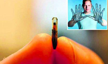 Американец си имплантираше безжични чипови (ВИДЕО)