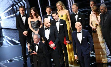 """ОСКАРИ 2016: """"Ла Ла Ленд"""" освои шест награди, """"Месечина"""" - најдобар филм"""