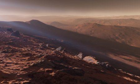 Атмосферата на Марс исчезнала во Вселената