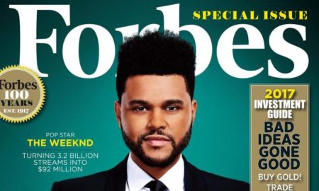ЗЛАТНА ДЕСЕТКА: Форбс ја објави листата на најбогати познати ѕвезди