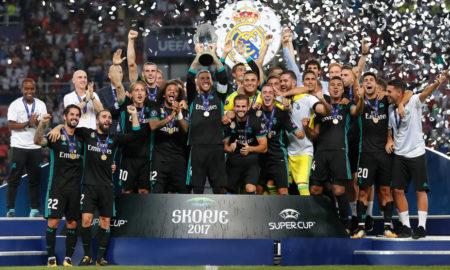 ПОБЕДНИЧКА ФОТОГРАФИЈА: Реал Мадрид е шампион на УЕФА Супер купот
