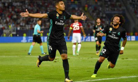 ПОЛУВРЕМЕ: Реал Мадрид со водство 1:0 против Манчестер Јунајтед (ЕКСКЛУЗИВНА ФОТОГАЛЕРИЈА)