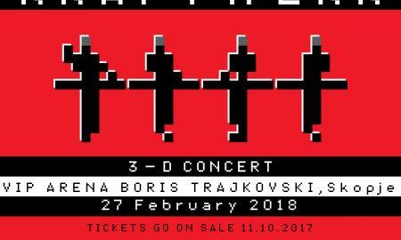Пионерите на електронската музика Крафтверк ќе одржат досега невиден 3-Д концерт во Скопје
