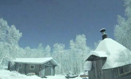 Необична појава на небото над Лапонија (ВИДЕО)