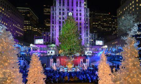 Светна новогодишната елка во Њујорк (ВИДЕО)