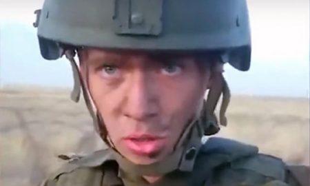 Руски војник подгревајќи го ручекот, си го запалил транспортерот (ВИДЕО)