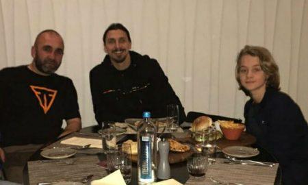 Златан Ибрахимовиќ го посети и Скопје (ФОТО)