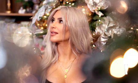 И Ким Кардашијан денеска го слави Божик