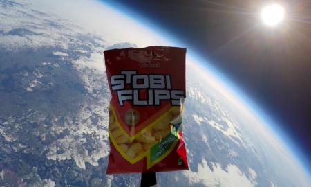 Стоби Флипс лансиран во вселената (ВИДЕО)