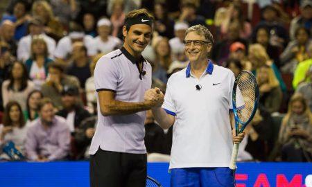 Рожер Федерер и Бил Гејтс непобедлив тандем