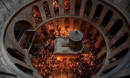 Благодатниот оган од Ерусалим преку Софија до Скопје