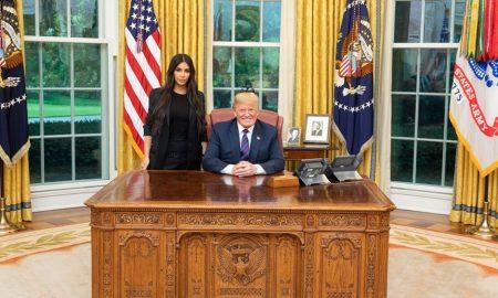 Ким Кардашијан повторно на средба со Трамп